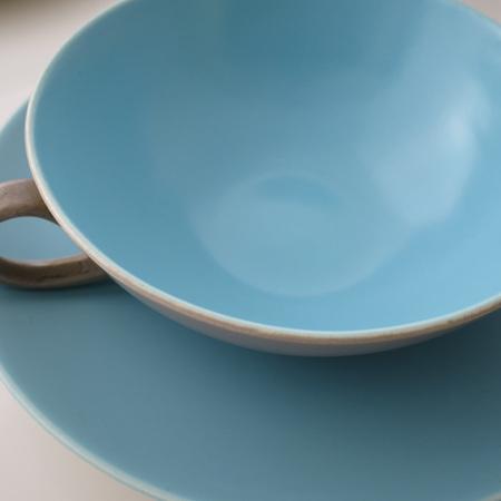 Soup bowl and saucer