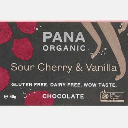 Sour Cherry & Vanilla Bar