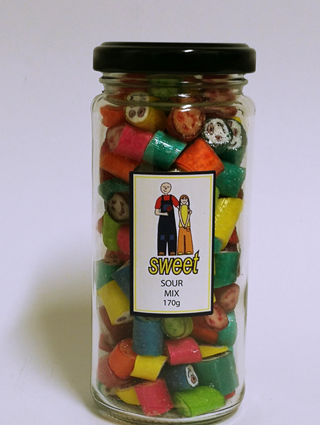 SOUR MIX JAR
