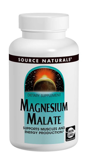 Source Natural  Magnesium Malate 90 Tablets