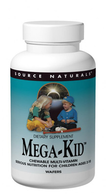 Source Naturals Mega-Kid™ Chewable Multi-vitamin