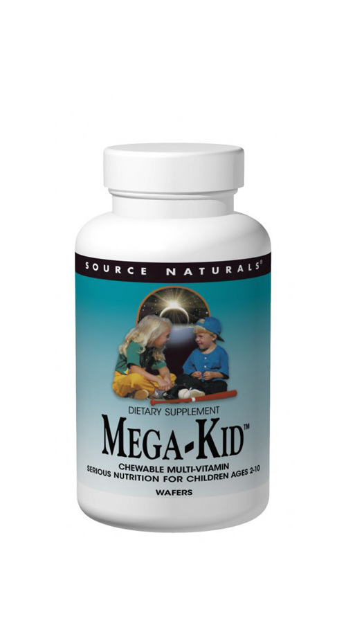 Source Naturals Mega-Kid™ Chewable Multi-vitamin
