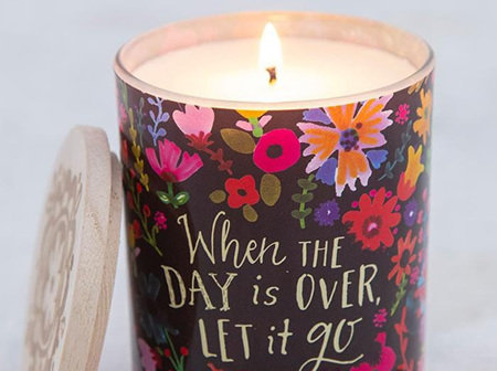 Soy Candle Let It Go