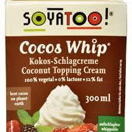 Soyatoo! Cocos Whip 300ml