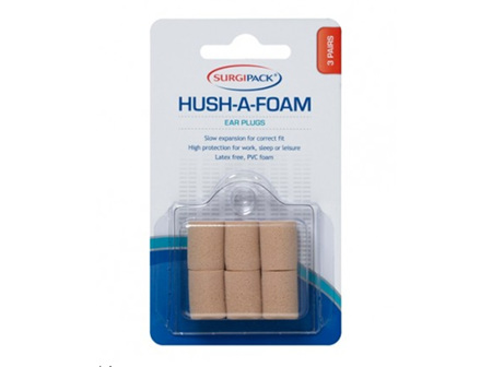SP Ear Plugs HushAFoam 3pr