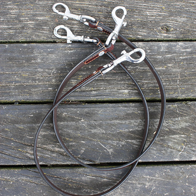 Spare Running Reins Clip set for Market Harborough English