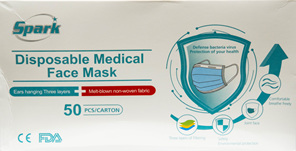 SPARK DISPOSABLE FACE MASK (ADULT)