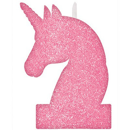Sparkle unicorn glitter candle