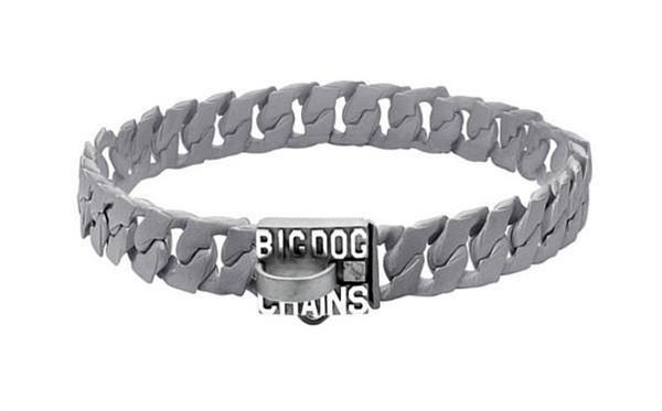 Spartan Custom Matte Finish Dog Collar by Big Dog Chains