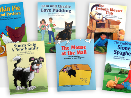 SPCA Learn-to-Read Storybooks
