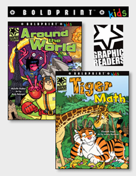 SPECIAL! Boldprint Kids Graphic Readers