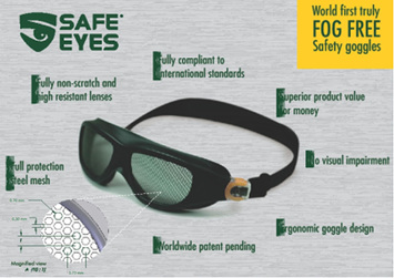 Special Offer - P100 Pro- Pruner + Safe Eyes Mesh Goggles