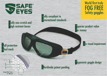 Special Offer - P100 Pro- Pruner + Safe Eyes Mesh Goggles
