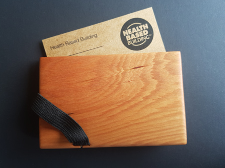 Speciality Timber Business Card Holder