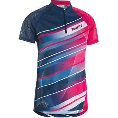 Speed Womens O-Shirt, Blue / Pink