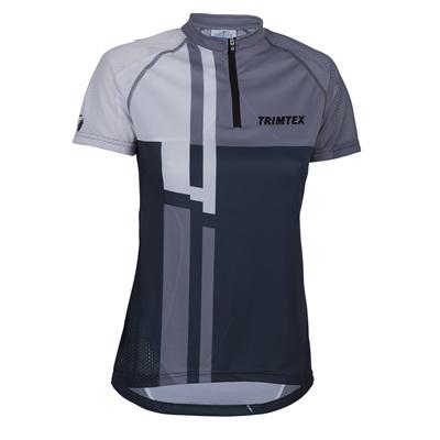 Speed Womens O-Shirt, Steel Blue / White
