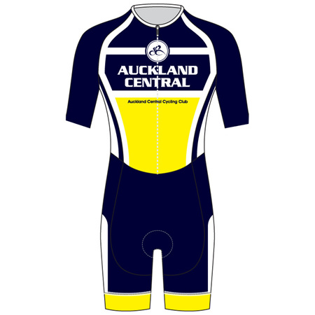 Speedsuit Short Sleeve - Auckland Central Cycling Club