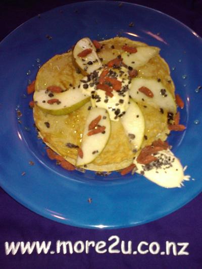 Spelt Pancakes & Lucuma Cream Combo Pack 1