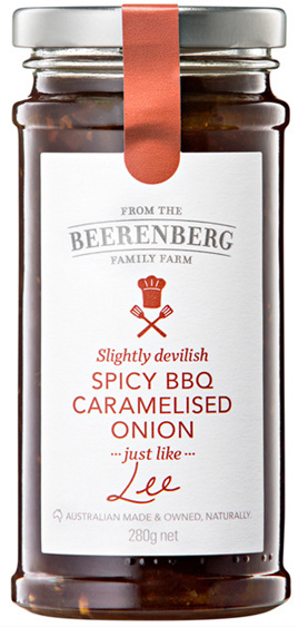 Spicy BBQ Caramelised Onion - 280g
