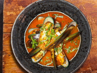 Spicy mussels with Hoot