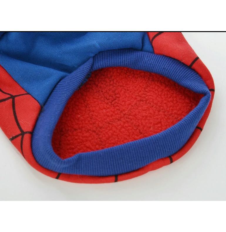 Spider Man dog costume spider dog Halloween dog costume
