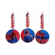 Spiderman 4 Hanging Decorations x 3