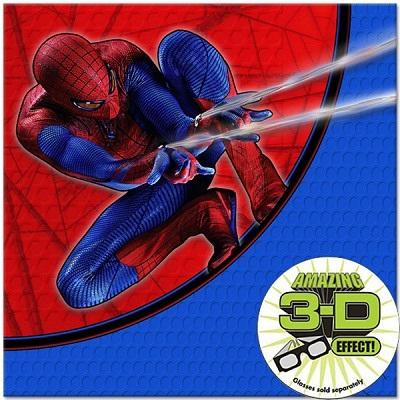 Spiderman 4 Lunch Napkins