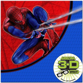 Spiderman 4 Lunch Napkins