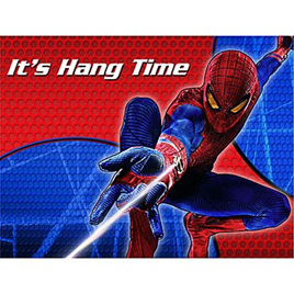 Spiderman 4 Party Invites