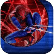Spiderman 4 Small Party Plates
