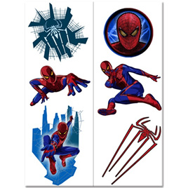 Spiderman 4 Tattoos