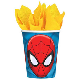 Spiderman Cups x 8