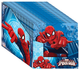 Spiderman Napkins x 16 - NEW