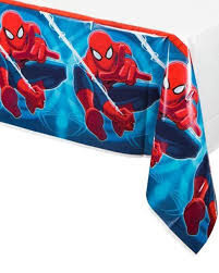 Spiderman Plastic Table cover