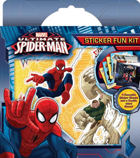 Spiderman Sticker Fun Kit