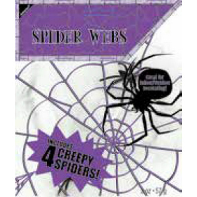 Spiderweb with 4 spiders