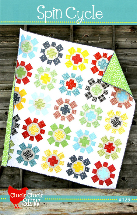 Spin Cycle Quilt Pattern from Cluck Cluck Sew