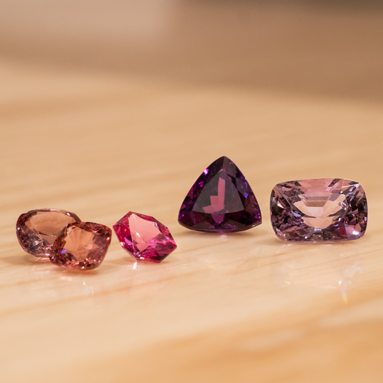 Spinel gemstone jewellery from The Village Goldsmith