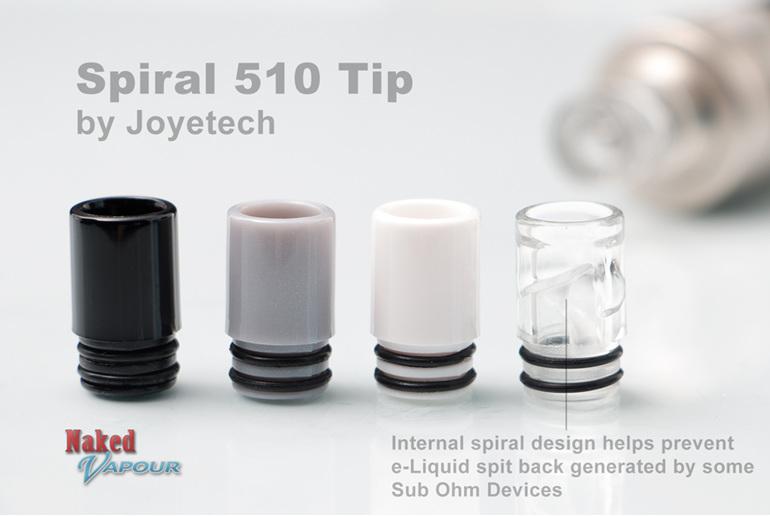 Spiral 510 Tip by Joyetech