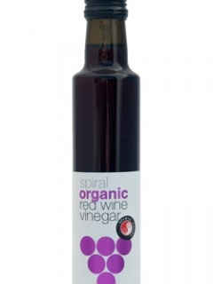 Spiral Foods Organic Red Wine Vinegar 250ml