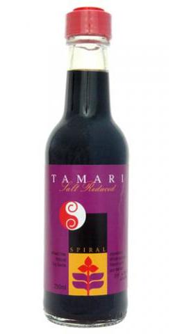 Spiral Foods Salt Reduced Tamari Sauce 250ml (Wheat Free)