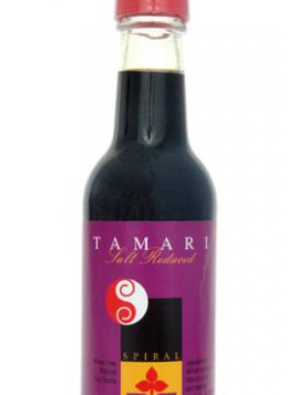 Spiral Foods Salt Reduced Tamari Sauce 250ml (Wheat Free)