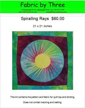 Spiralling Ray Kitset