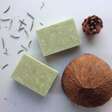 Spirulina, Rosemary & Cedarwood Hair Bar