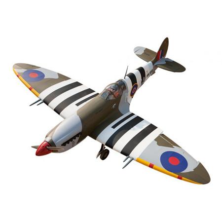 Spitfire 80in. 22-40cc 2-stroke, 40-50cc 4-stroke. 0.29m3 by Seagull Models
