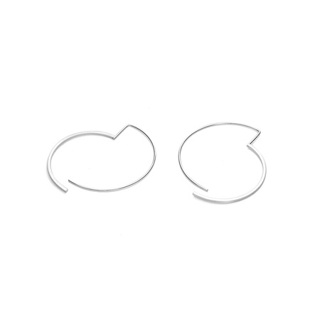 Split Circle Earrings