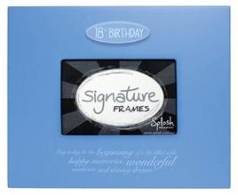 Splosh Signature Frames & Numbers