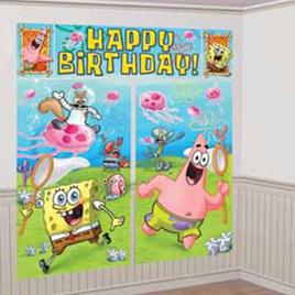 Sponge Bob Square Pants Wall Decorating Kit