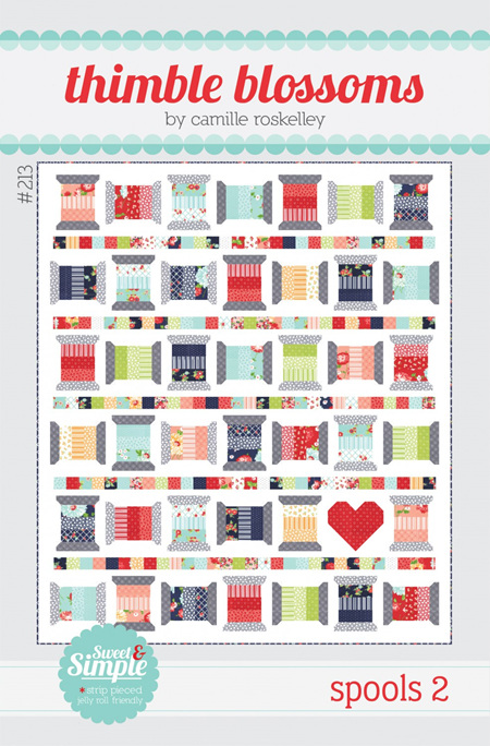 Spools 2 Quilt Pattern