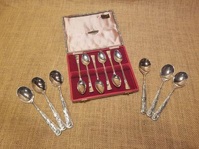 Teaspoons, Sugar or Cream Spoons